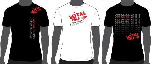 Vital 4U T-shirts